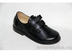 Туфли 21140 гладкий черный