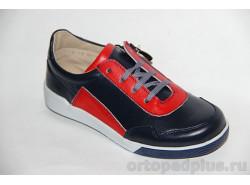 Кроссовки 22116 синий/красный