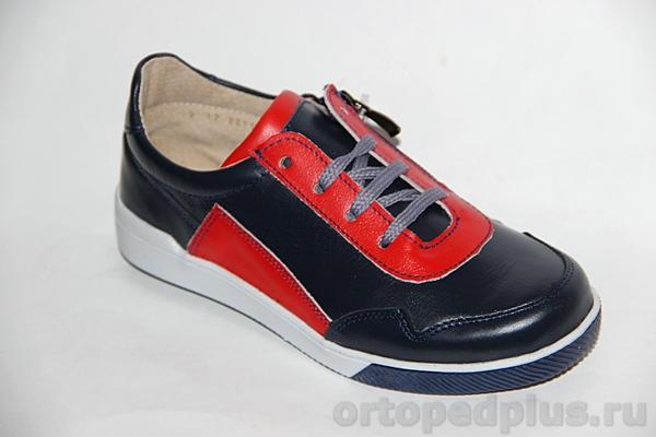 Ортопедическая обувь Кроссовки 22116 синий/красный