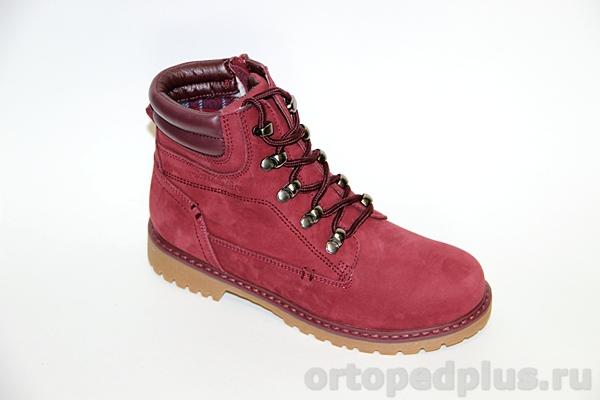 Ортопедическая обувь Ботинки 23-259 бордовый