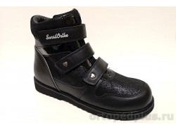 Ботинки 23-281 черный