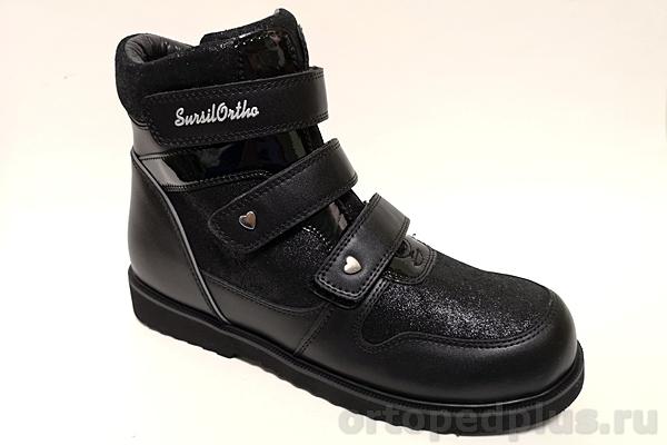 Ортопедическая обувь Ботинки 23-281 черный