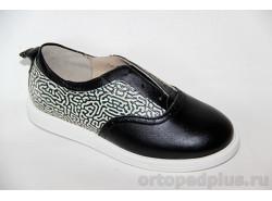Туфли 24007 ЧЕЧЕТКА черный