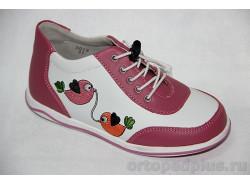 Кроссовки 5019 фуксия/белый/розовый