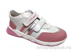 П/ботинки BL-295-13 розовый/белый