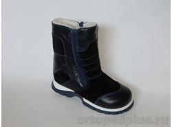 Ботинки Данилка 1.12 синий/черный