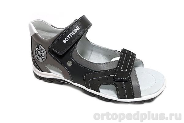 Ортопедическая обувь Сандалии SO-137-5 серый
