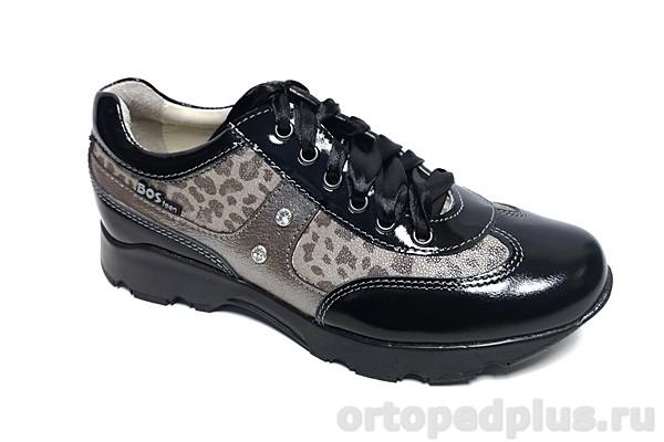 Ортопедическая обувь Кроссовки 094-613 черный