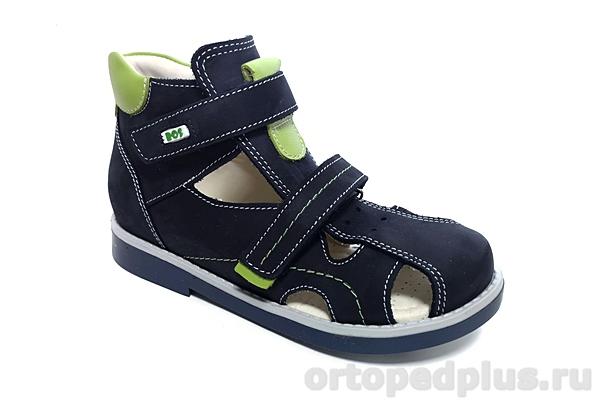 Ортопедическая обувь Сандалии 111-71 т.синий