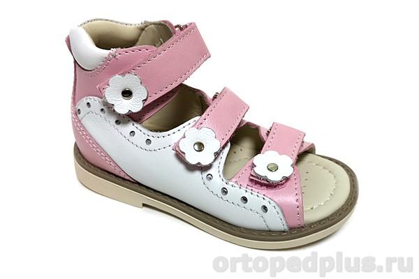 Ортопедическая обувь Сандалии 161-411 розовый