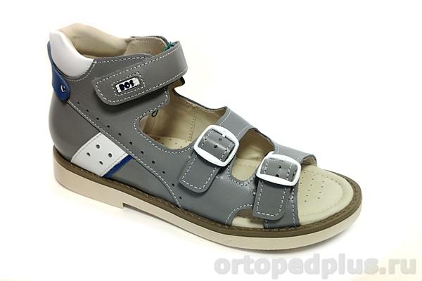 Ортопедическая обувь Сандалии 164-211 серый