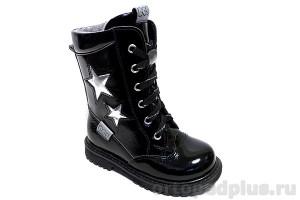 Ботинки 183-12 черный лак