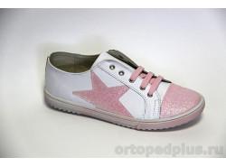 Кроссовки 22126 розовый/белый