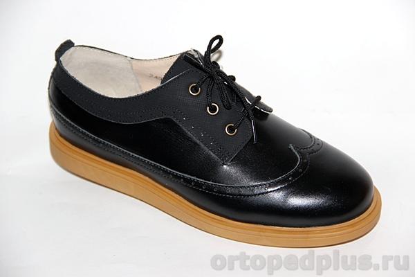 Ортопедическая обувь Туфли 24008 ТВИСТ черный