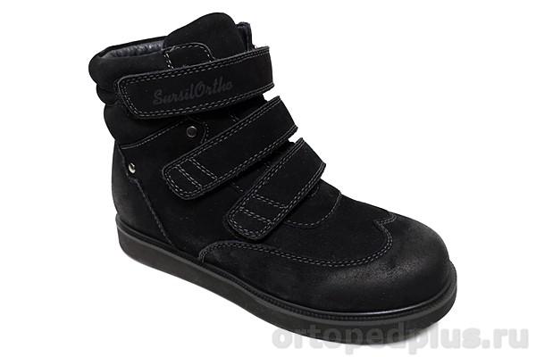 Ортопедическая обувь Ботинки 44-080 черный
