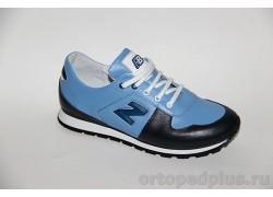 Кроссовки 8350 синий/голубой