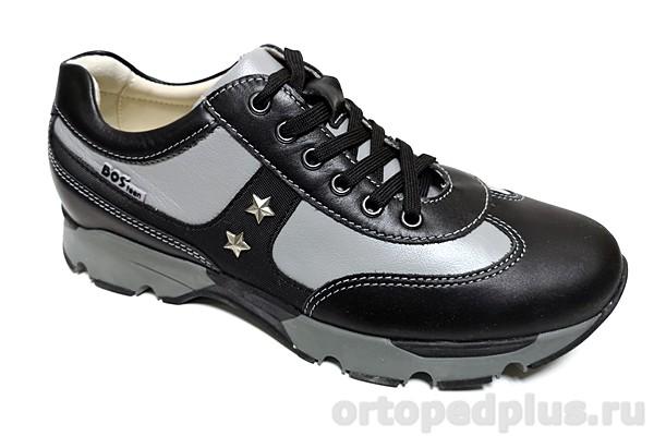 Ортопедическая обувь Кроссовки 094-214 черный/серый