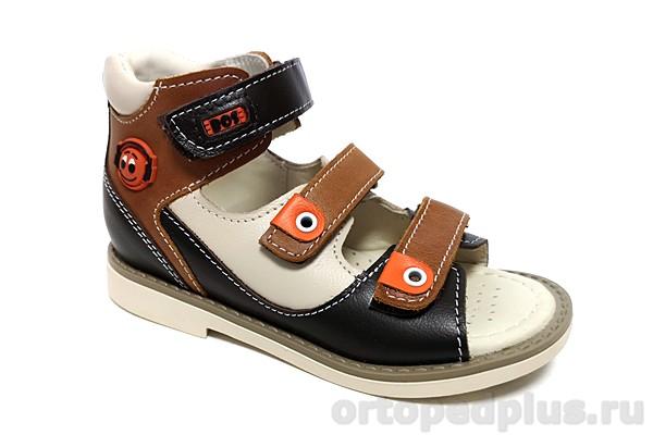 Ортопедическая обувь Сандалии 163-511 коричневый