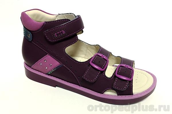 Ортопедическая обувь Сандалии 164-815 фиолетовый