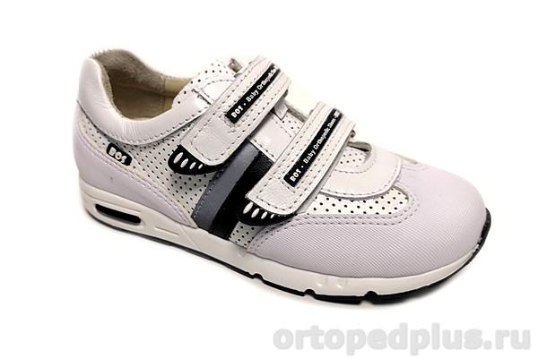 Ортопедическая обувь Кроссовки 231-011 белый