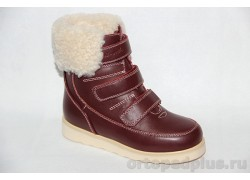 Ботинки 43-039-1 бордовый