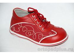 Кроссовки 5011 красный/белый