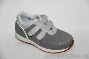 Кроссовки 5100 серый/с.серый