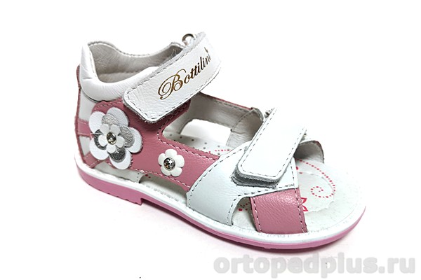 Ортопедическая обувь Сандалии SO-223-13 розовый/белый