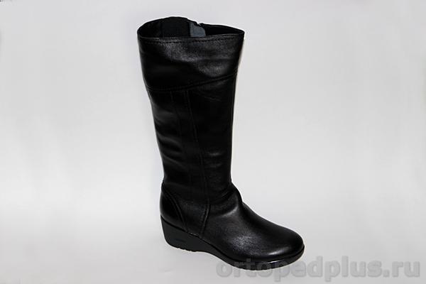 Комфортная обувь Сапоги жен. 8042 черный