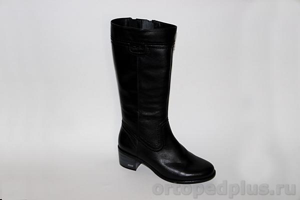 Комфортная обувь Сапоги женские евро 872-4 черный