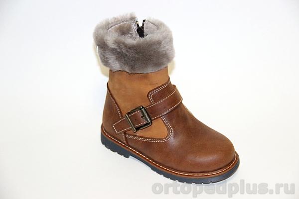Ботинки зимние 06-708 коричневый