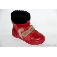 Ботинки 1017 красный