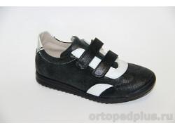 Кроссовки 22150 черный/белый