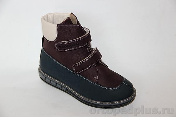 Ортопедическая обувь Ботинки 23001 ШИПОВНИК бордо