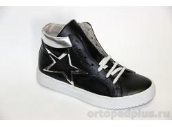 Ботинки 23101 черный