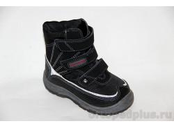 Ботинки 43-070 черн/сер