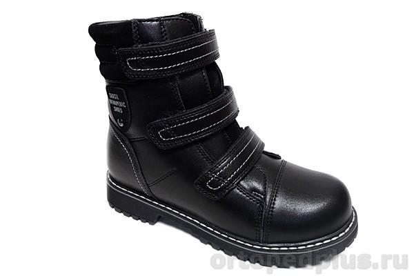 Ортопедическая обувь Ботинки 45-074 черный