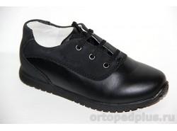 Туфли школьная 73553 черн