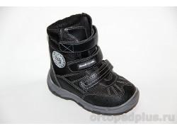 Ботинки А43-035 черный