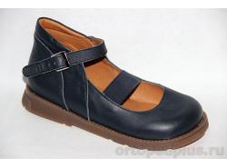 Туфли Метида синий