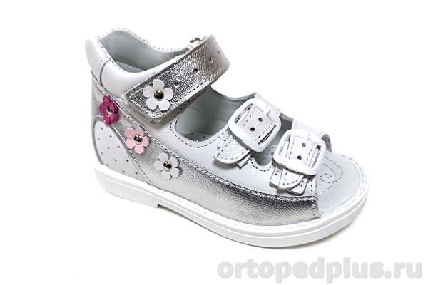Ортопедическая обувь Сандалии SO-092-15 серебристый