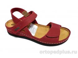 Туфли женские 06-2A красный