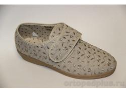 П/ботинки текстильные 179_41616010_400 бежевый