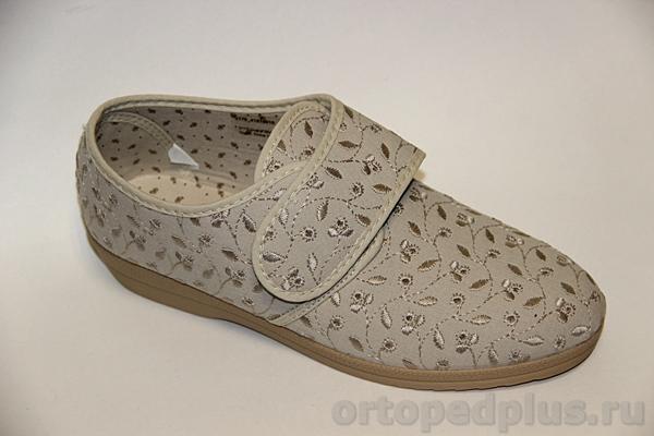 Комфортная обувь П/ботинки текстильные 179_41616010_400 бежевый