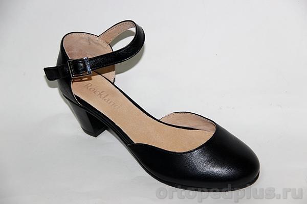Комфортная обувь Туфли женские 18-061/4 черн
