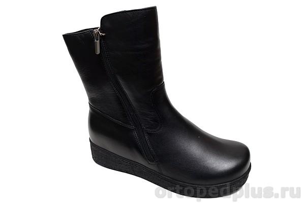 Комфортная обувь Сапоги женские 180502 черный
