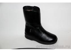 Сапоги женские 261201 черный