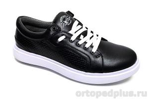 П/ботинки мужские 4152 черный
