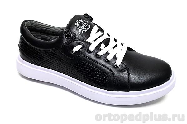 Комфортная обувь П/ботинки мужские 4152 черный