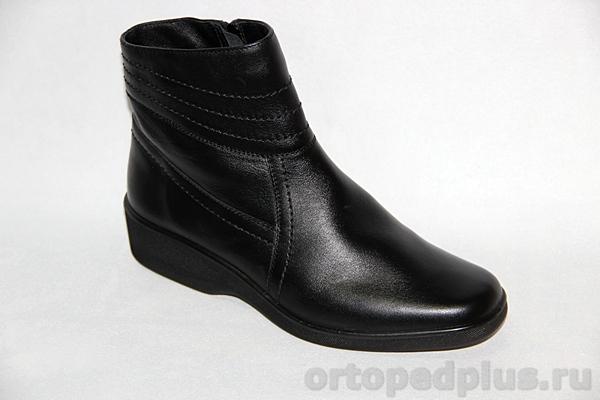 Комфортная обувь П/сапожки жен. 620-2 черный